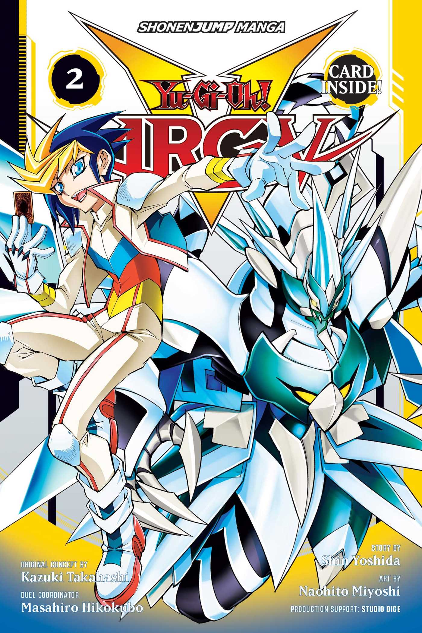arc v manga volume 2