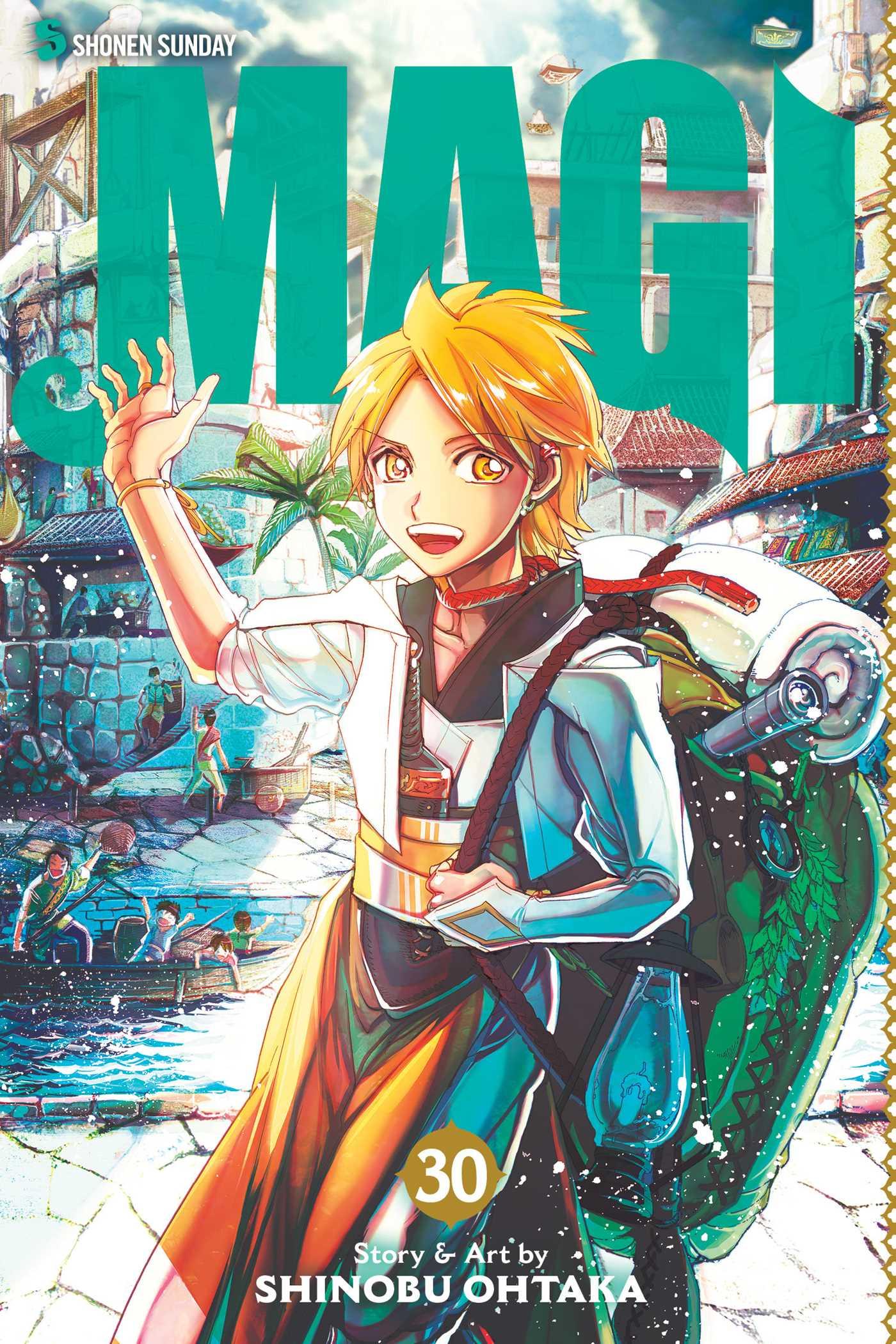 Magi Manga Volume 30