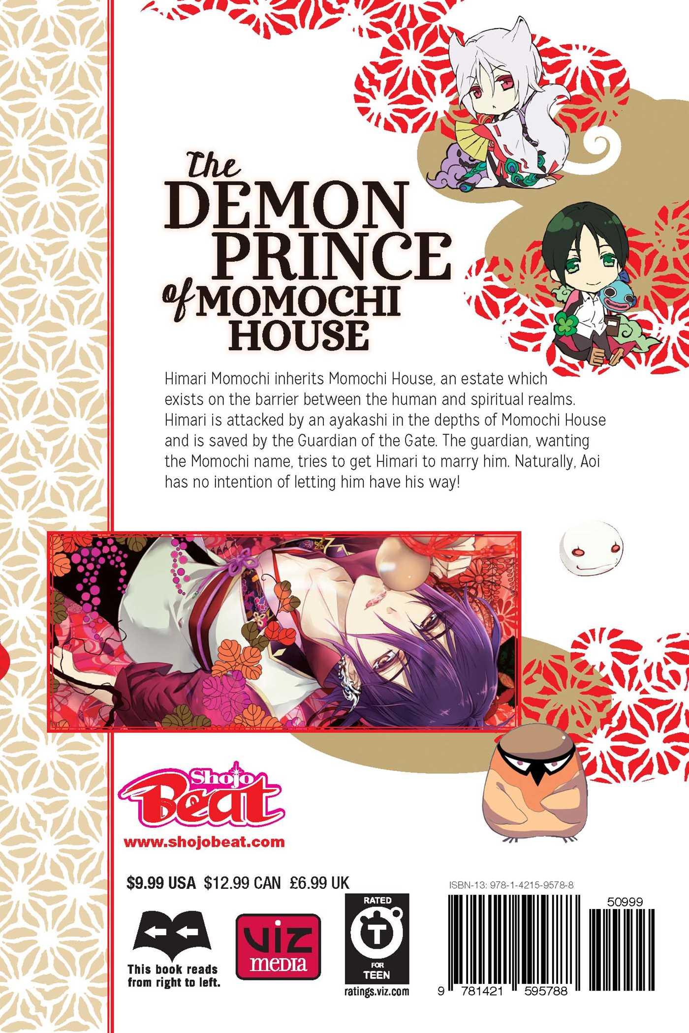 The Demon Prince of Momochi House Manga Volume 10