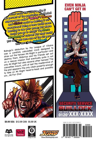 My Hero Academia Manga Volume 11