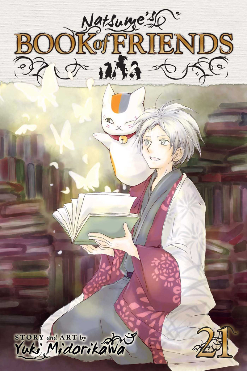 Natsume's Book of Friends Manga Volume 21