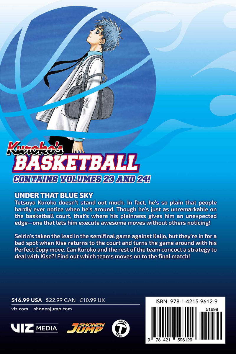Kuroko's Basketball 2 In 1 Edition Manga Volume 12