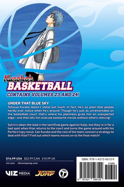 Kuroko's Basketball 2 In 1 Edition Manga Volume 12
