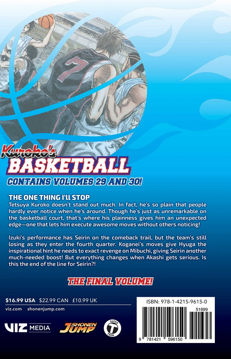 Kuroko's Basketball 2 in 1 Edition Manga Volume 15