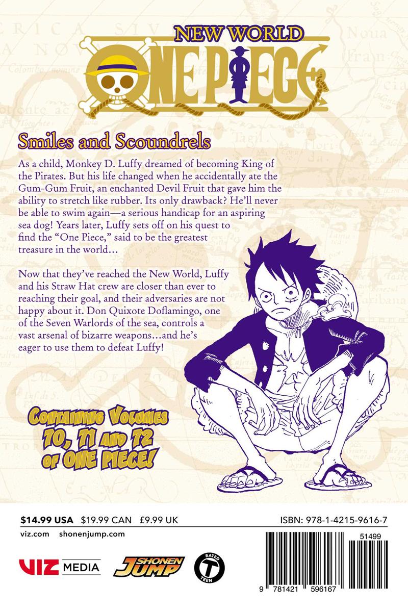 One Piece Omnibus Edition Manga Volume 24