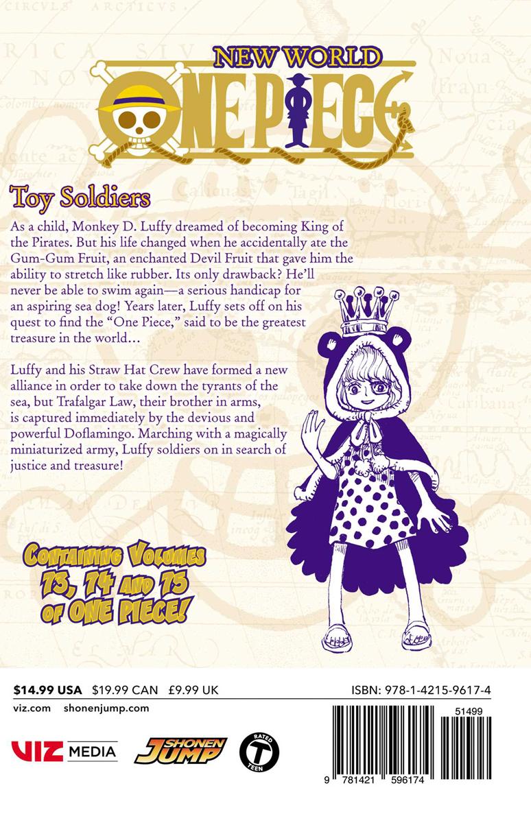 One Piece Omnibus Edition Manga Volume 25