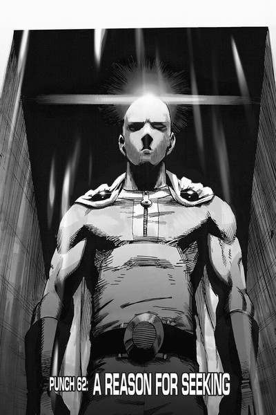One-Punch Man Manga Volume 12