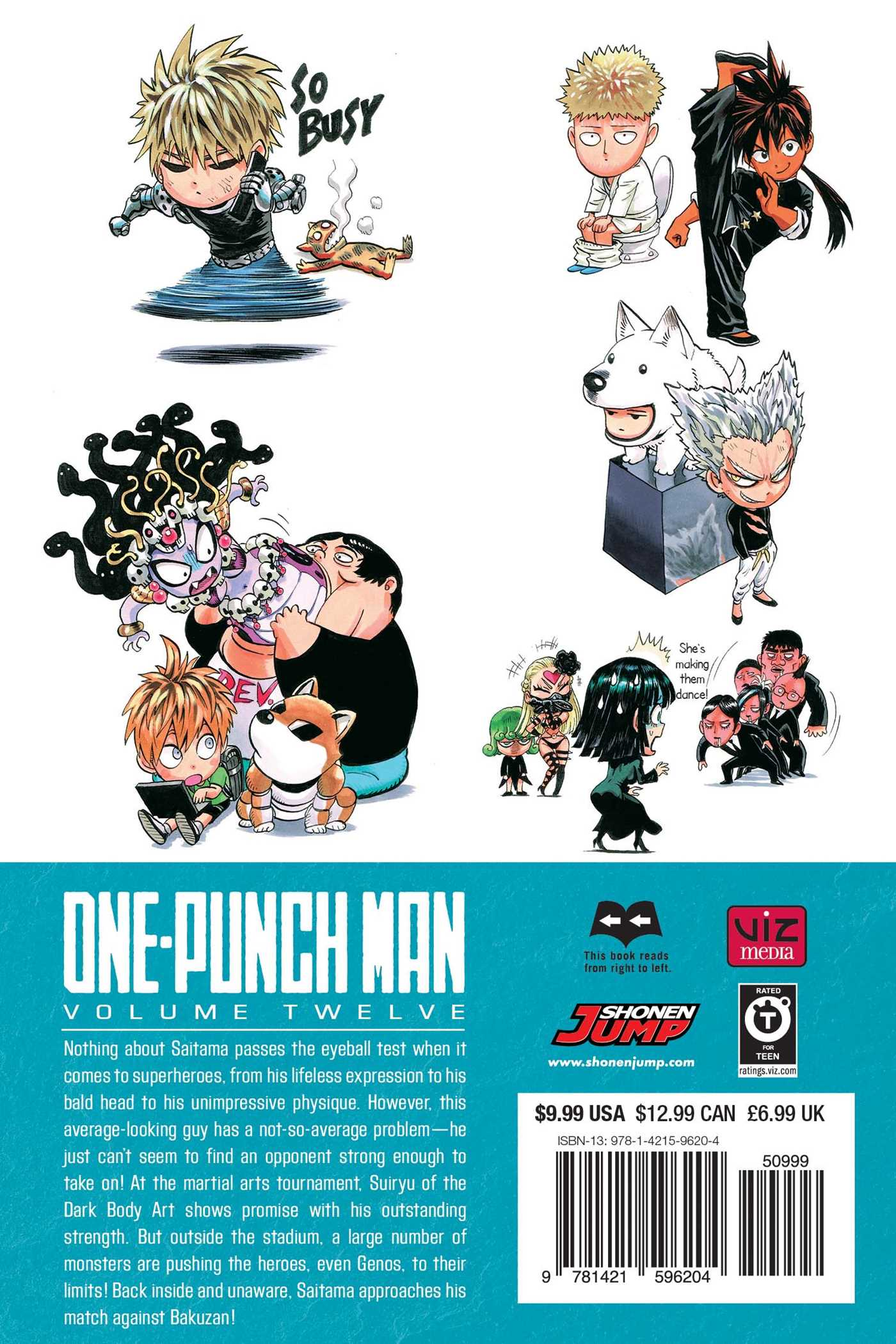 One-Punch Man Manga Volume 12