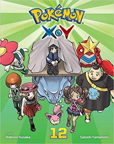 Pokemon XY Manga Volume 12