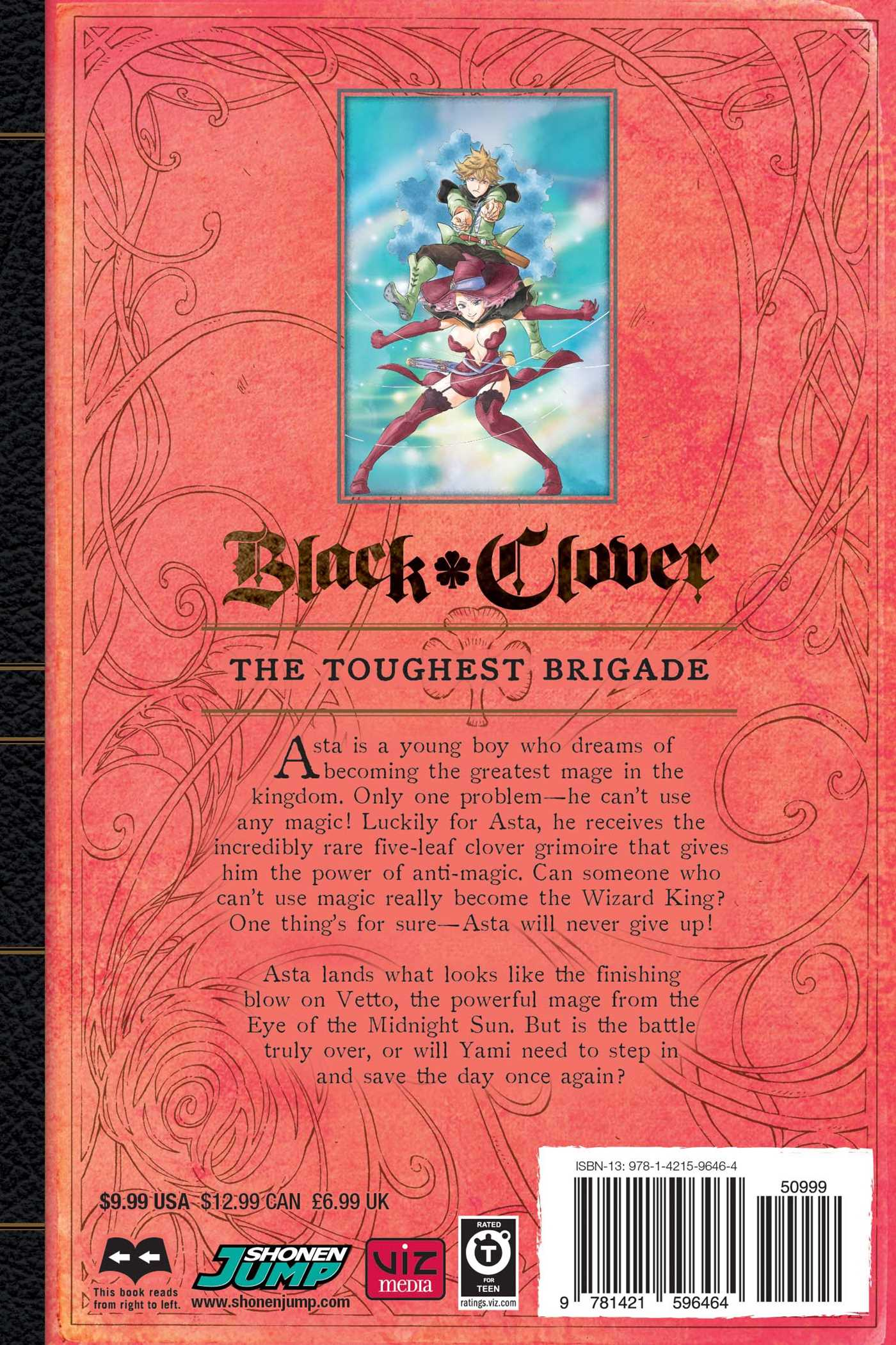 Black Clover Manga Volume 9