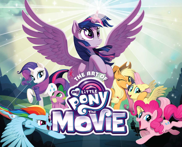 The Art of My Little Pony The Movie (Hardcover)