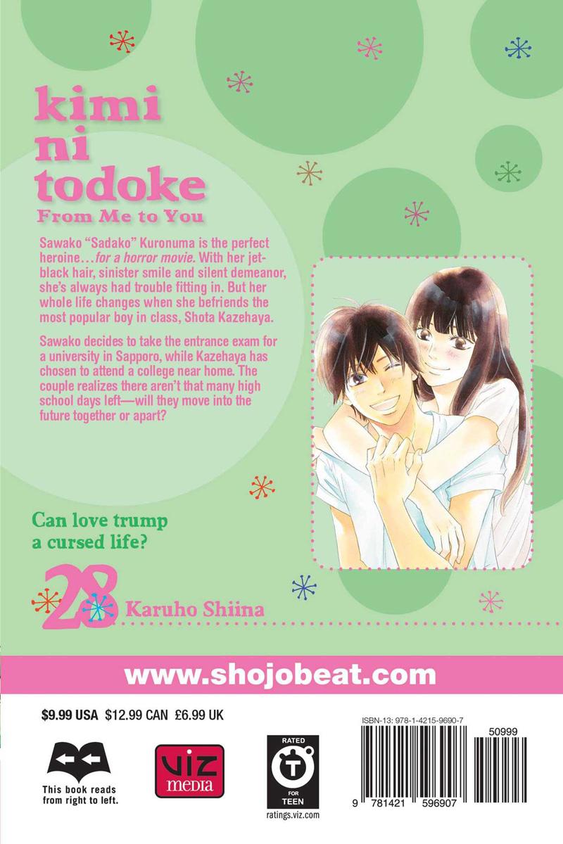 Kimi ni Todoke From Me to You Manga Volume 28