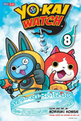 Yo-kai Watch Manga Volume 8