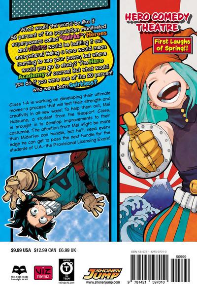 My Hero Academia Manga Volume 12
