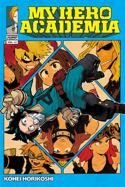 My Hero Academia Manga Volume 12