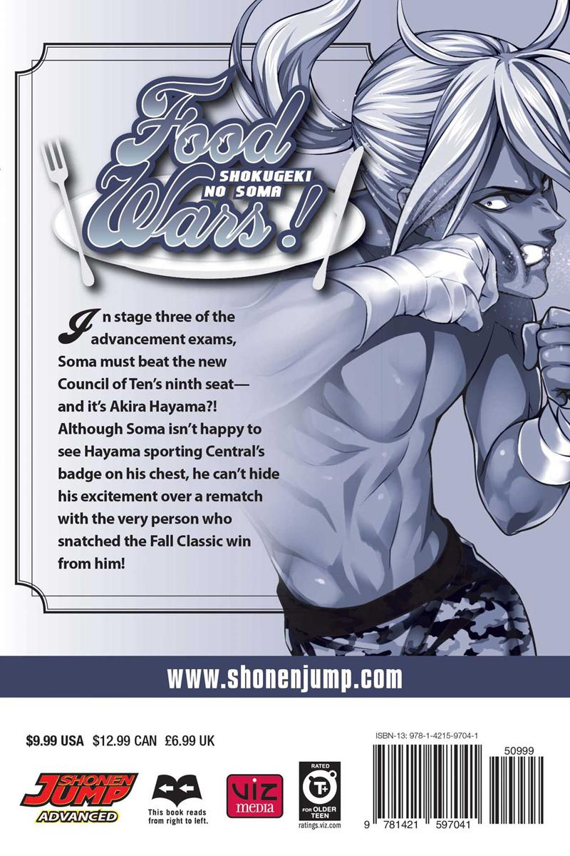 Food Wars! Manga Volume 22