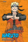 Naruto 3 in 1 Edition Manga Volume 22