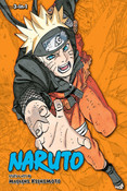 Naruto 3 in 1 Edition Manga Volume 23