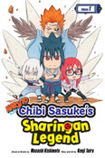 Naruto Chibi Sasuke's Sharingan Legend Manga Volume 1