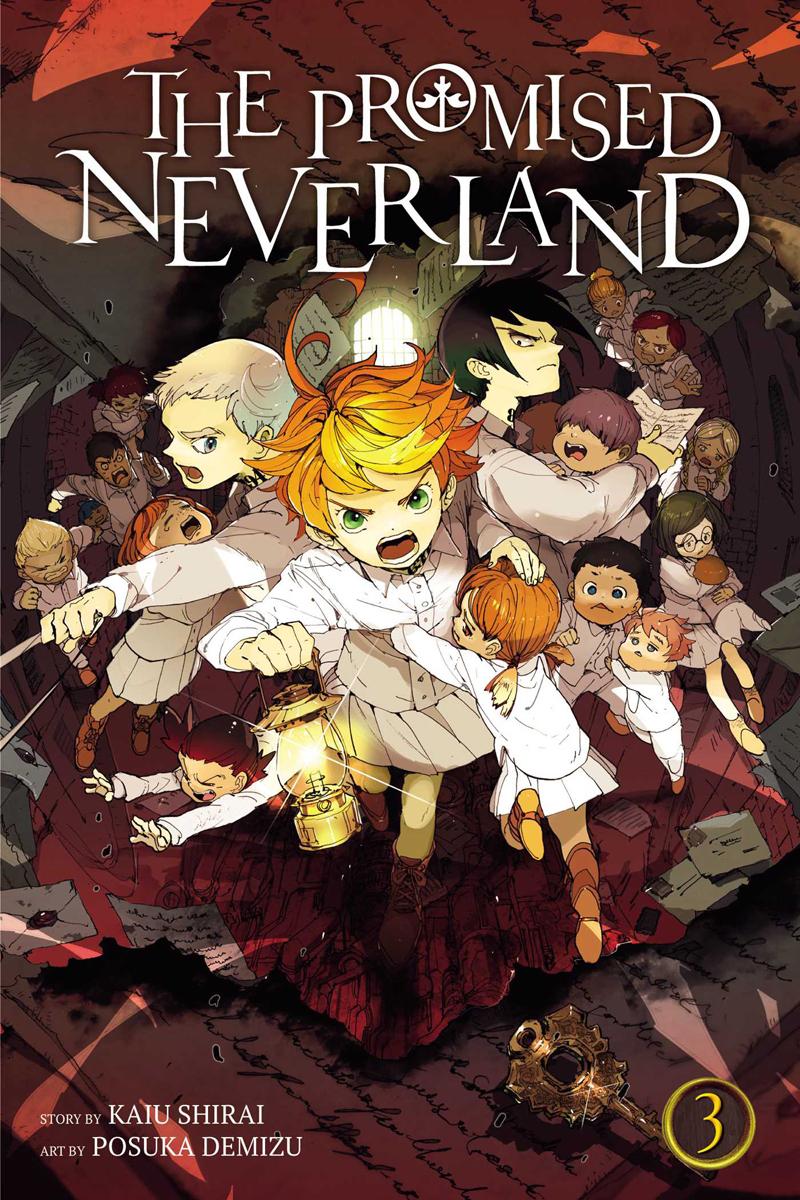 The Promised Neverland Manga Volume 3