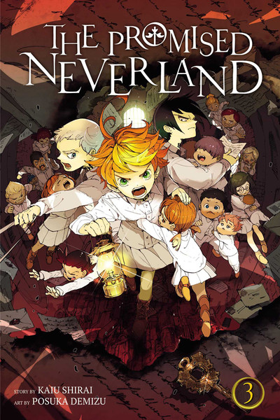 The Promised Neverland Manga Volume 3