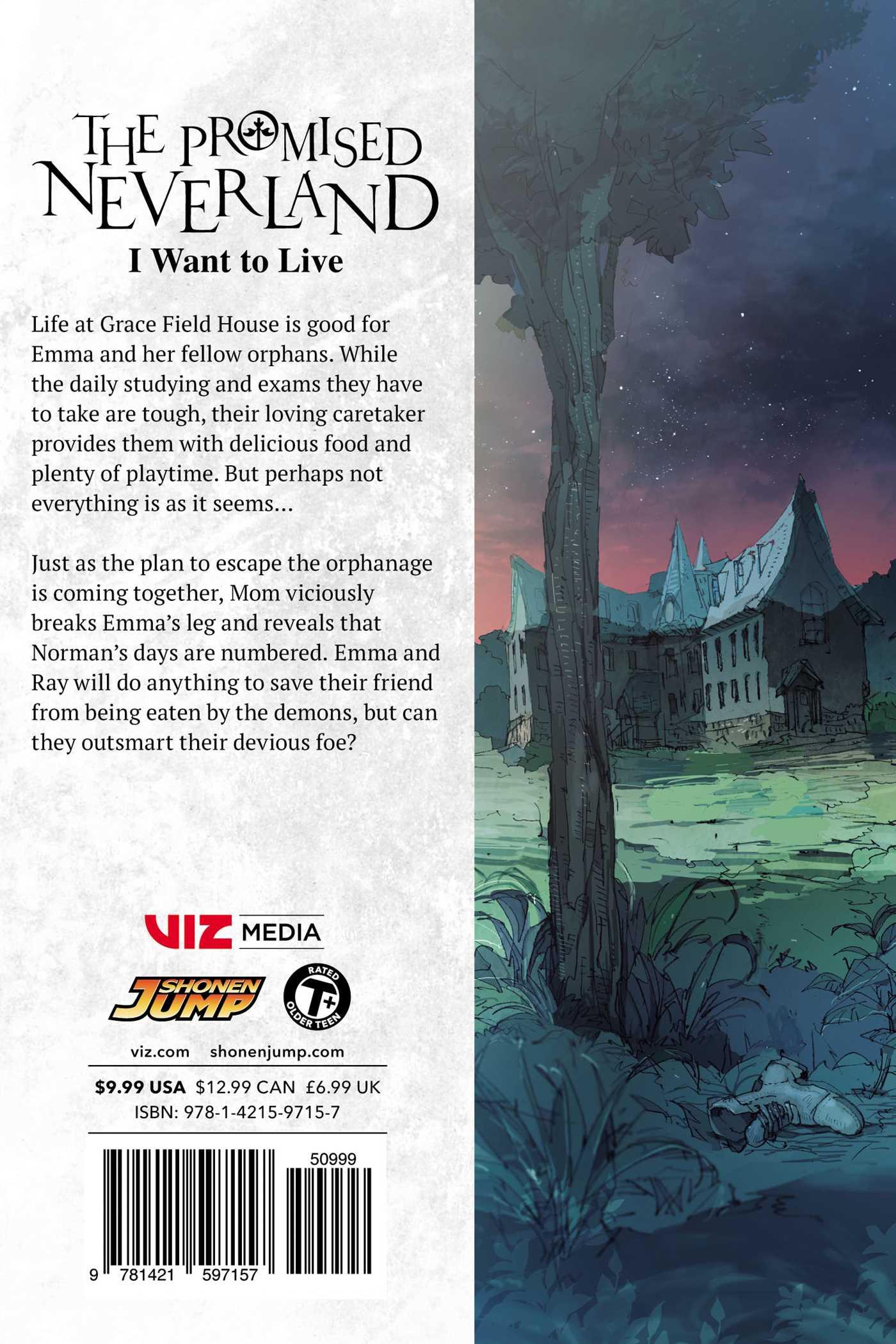 The Promised Neverland Manga Volume 4