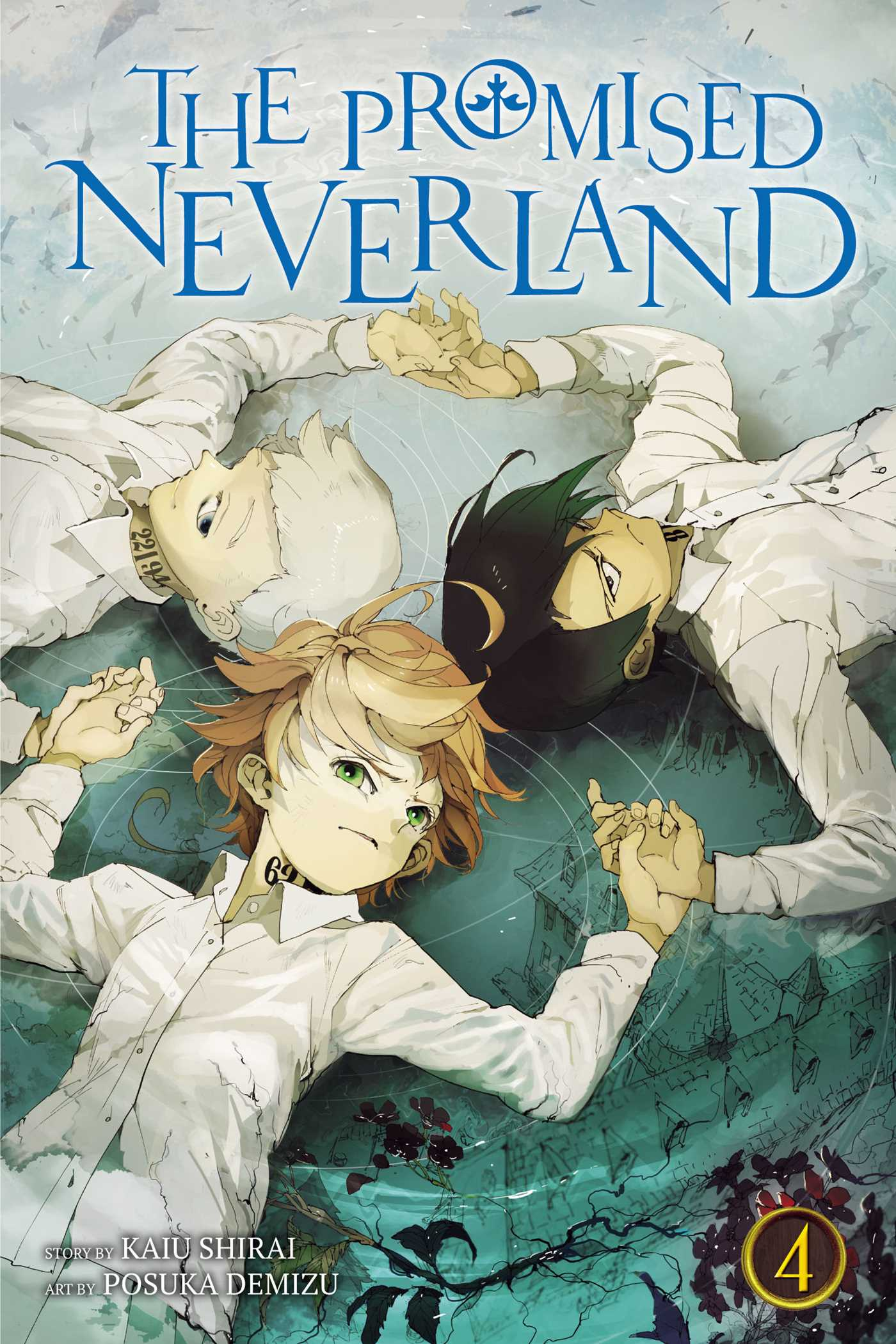 the promised neverland  The Promised Neverland Manga Volume 4