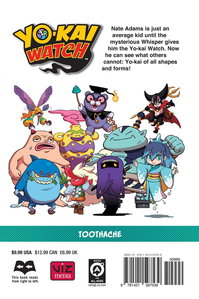 Yo-kai Watch Manga Volume 9