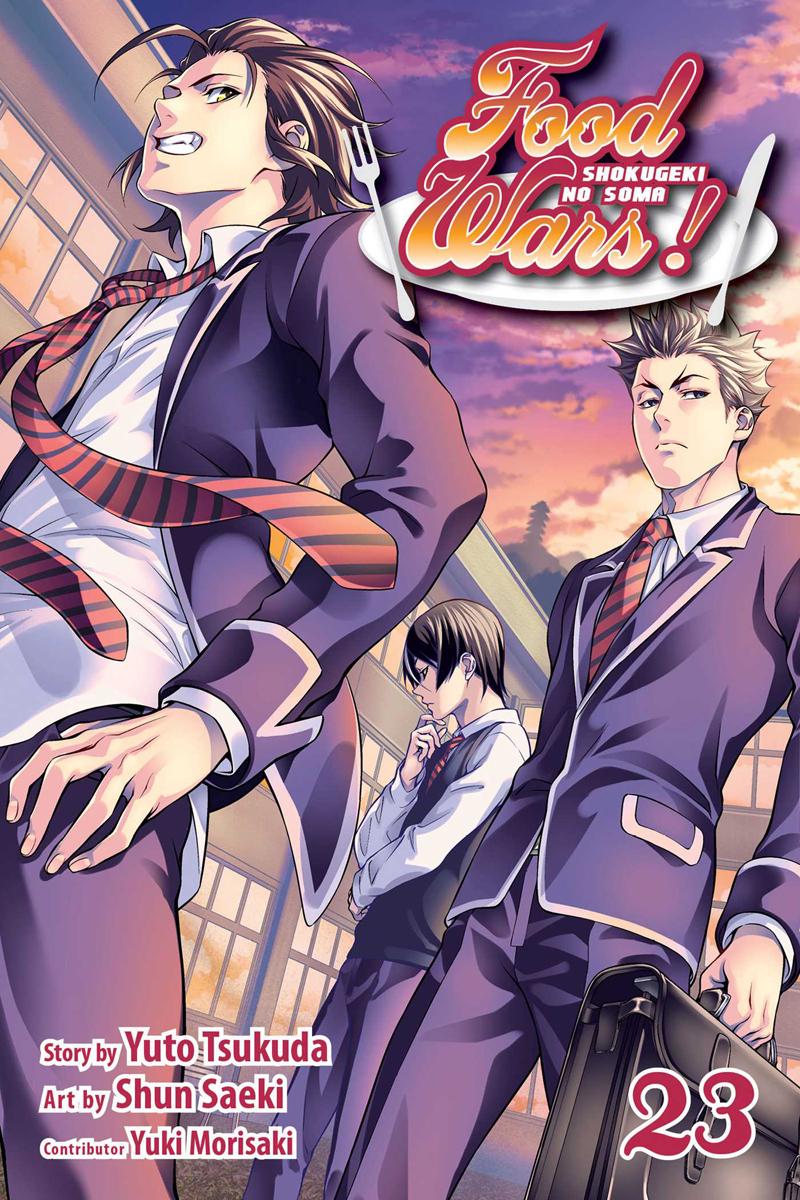 Food Wars! Manga Volume 23