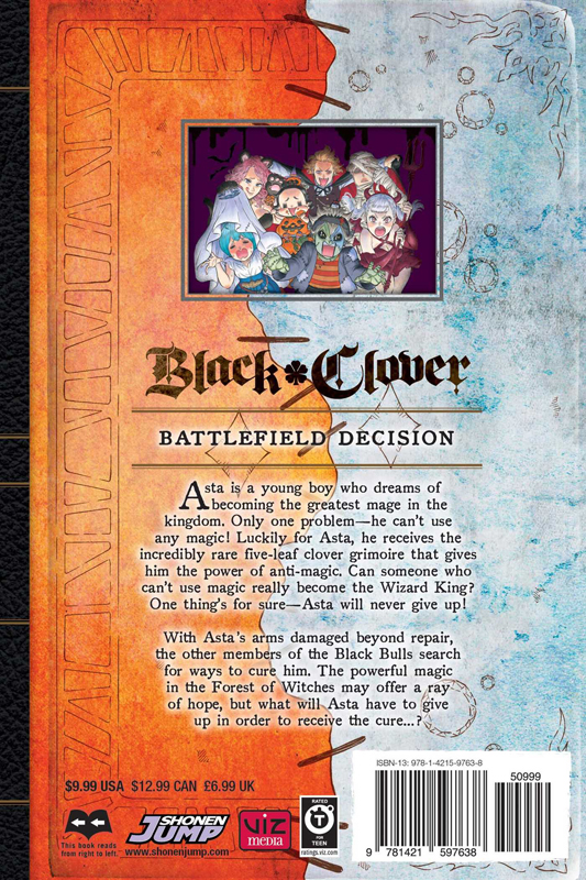 Black Clover Manga Volume 10