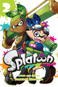Splatoon Manga Volume 2