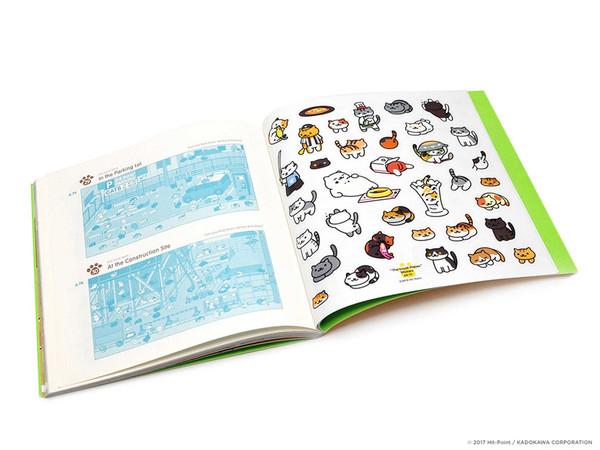 Neko Atsume Kitty Collector Activity Book