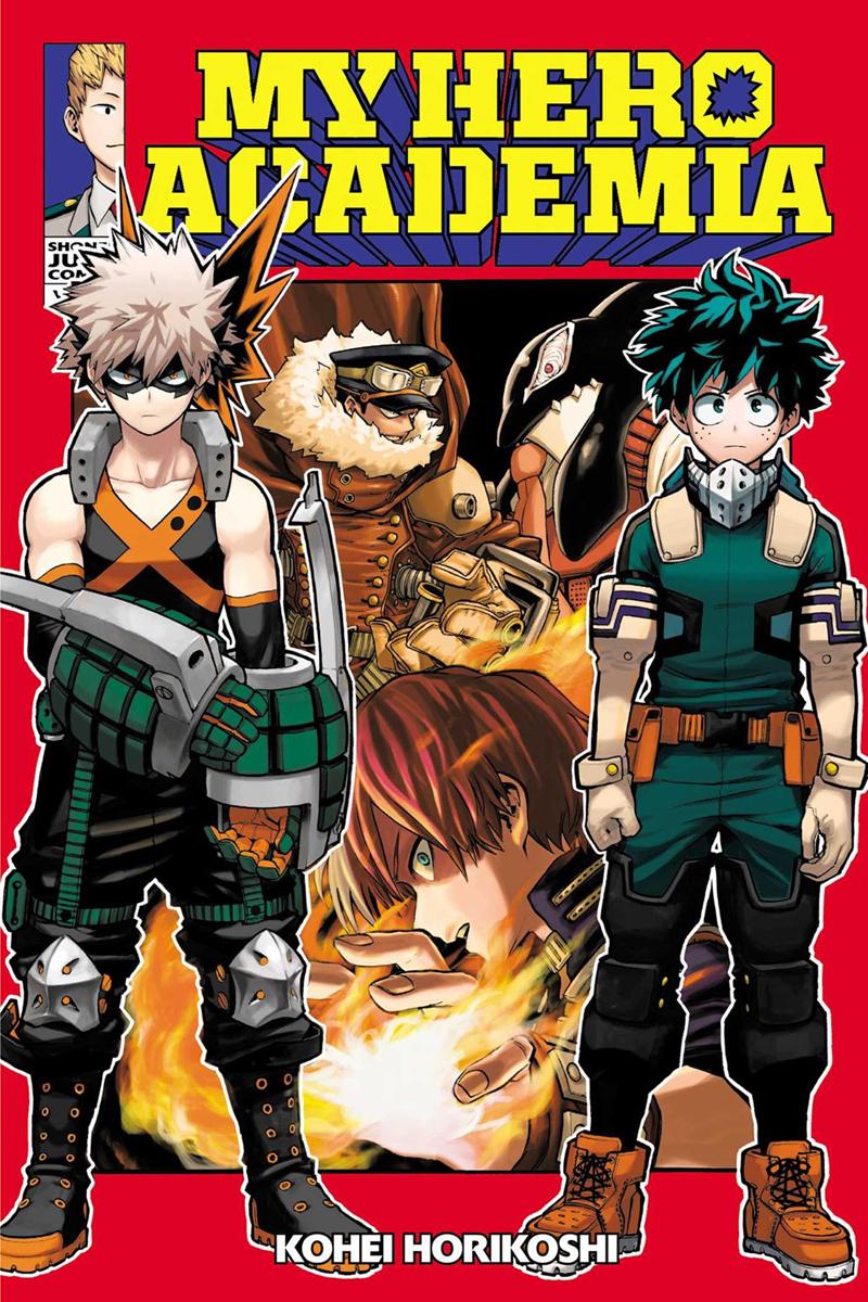 My Hero Academia Manga Volume 13