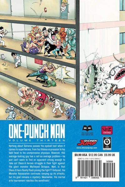 One-Punch Man Manga Volume 13