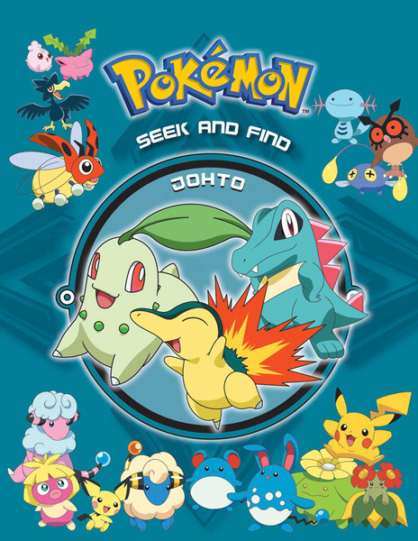 Pokemon Seek and Find Johto Activity Book (Hardcover)