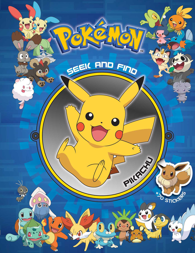 Pokemon seek and find pikachu activity book - Image pikachu ...