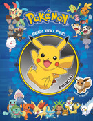 Pokemon Seek and Find Pikachu Activity Book
