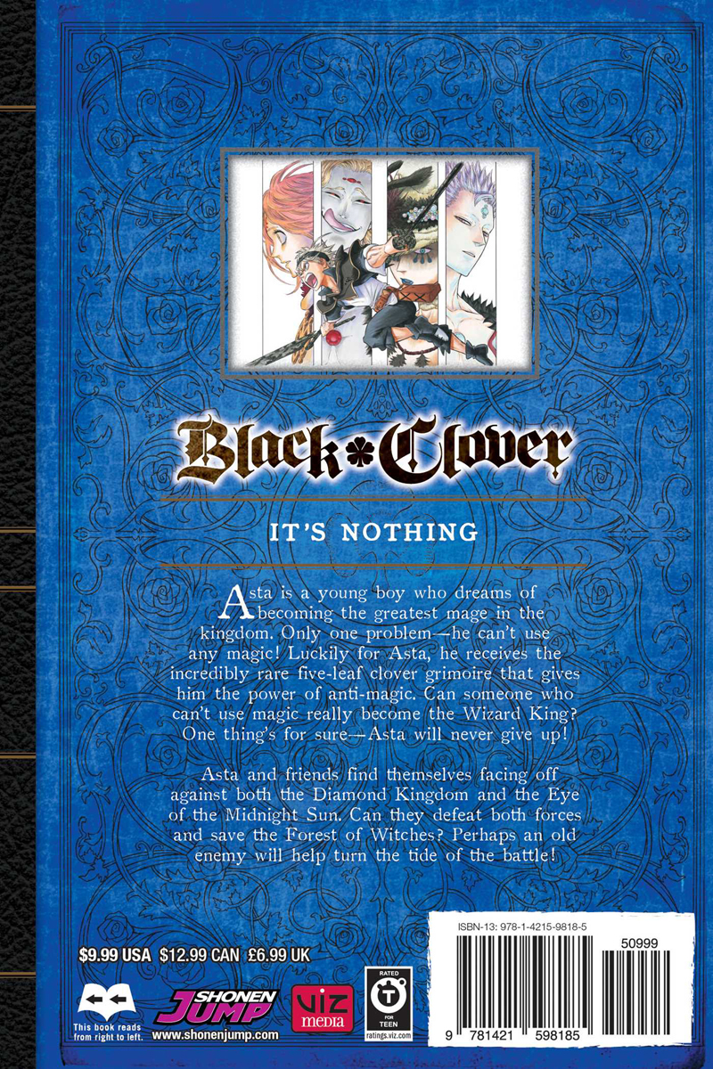 Black Clover Manga Volume 11
