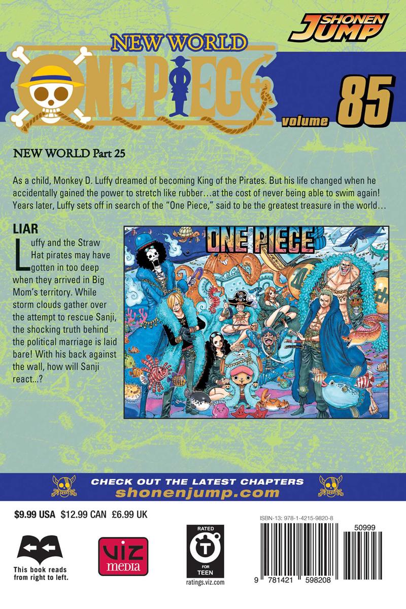 One Piece Manga Volume 85