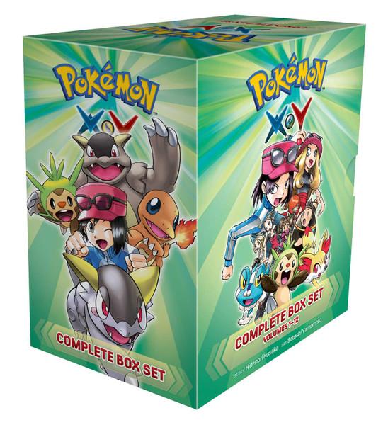 Pokemon XY Manga Box Set