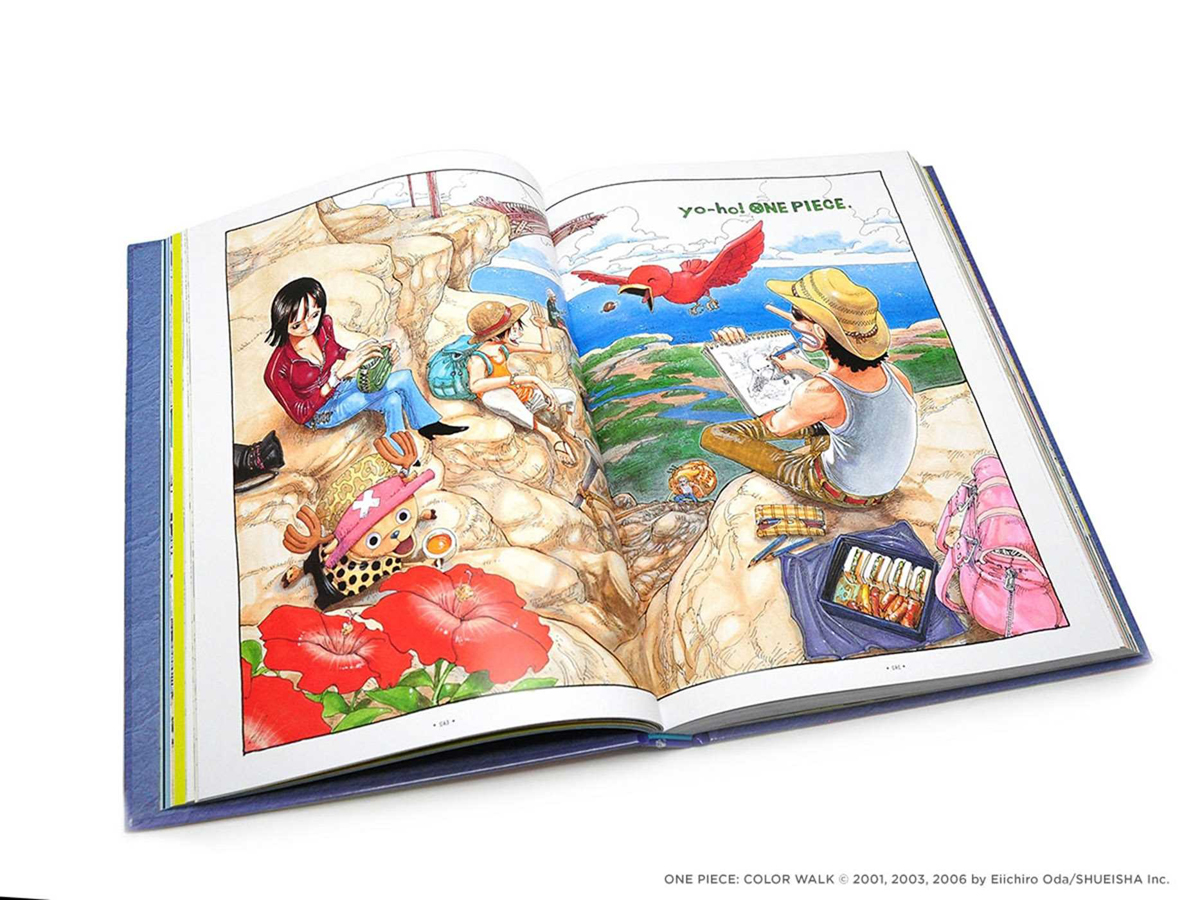 One Piece Color Walk Compendium East Blue to Skypiea Artbook