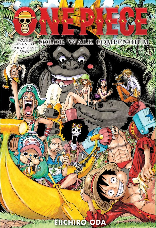 One Piece Color Walk Compendium Artbook (Hardcover)