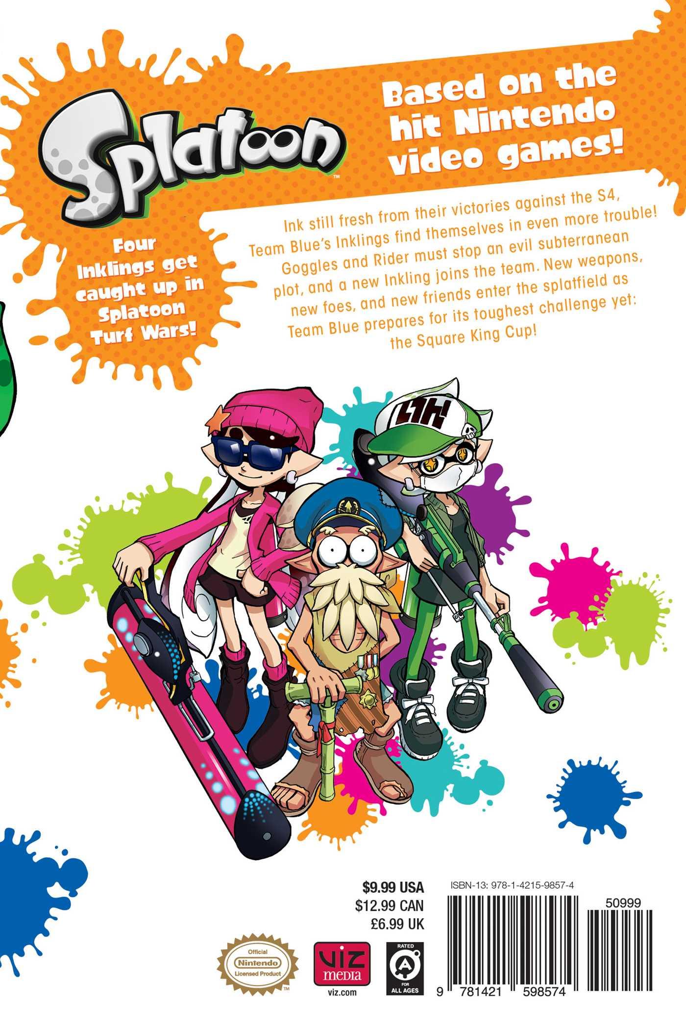Splatoon Manga Volume 3