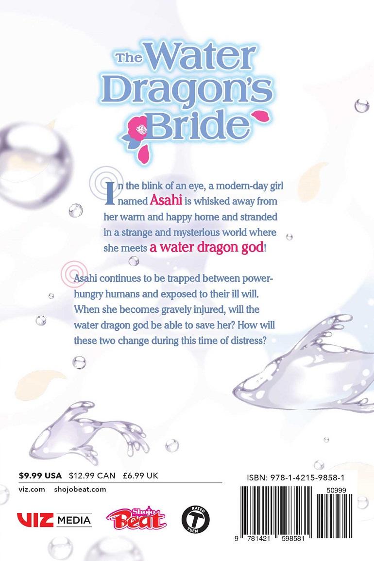 The Water Dragon's Bride Manga Volume 6