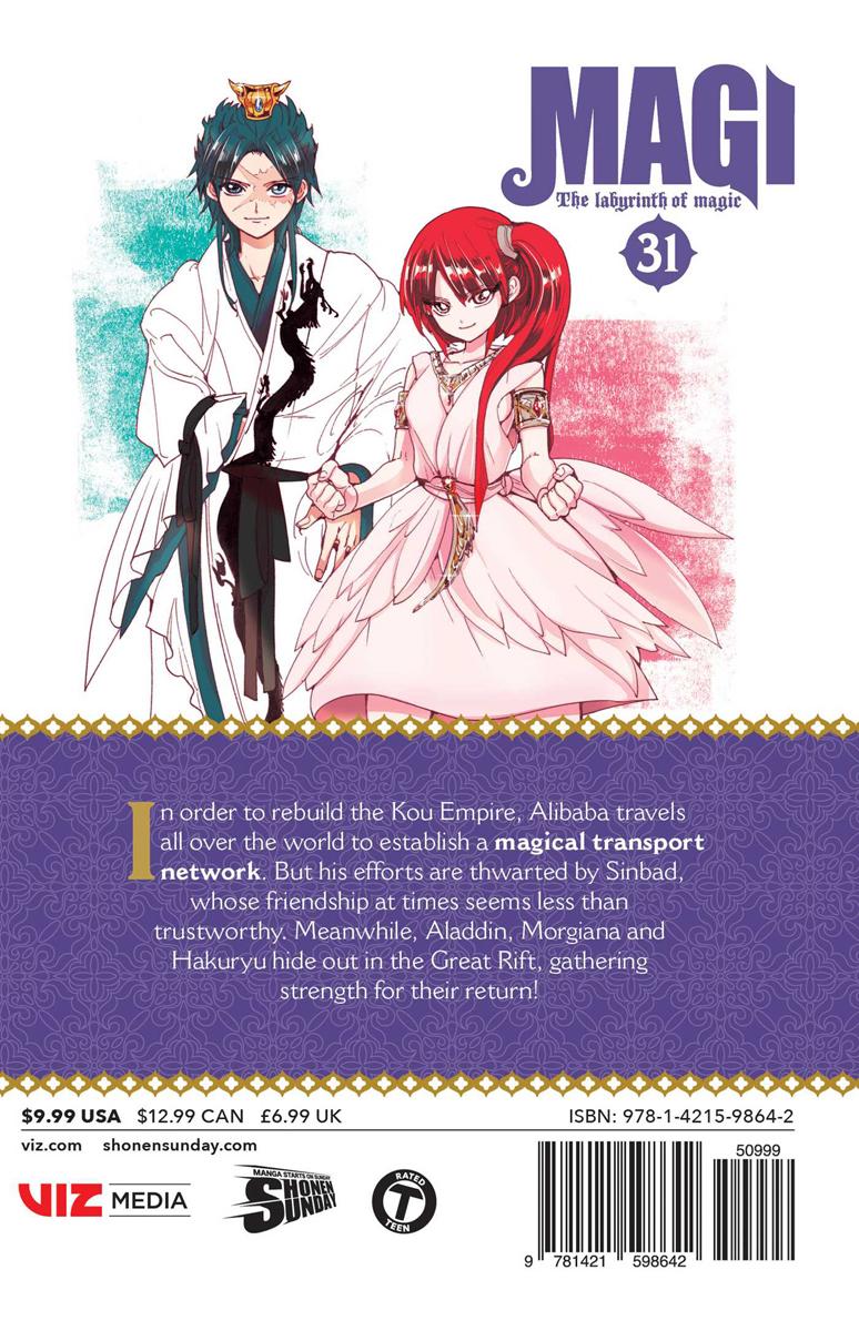 Magi Manga Volume 31