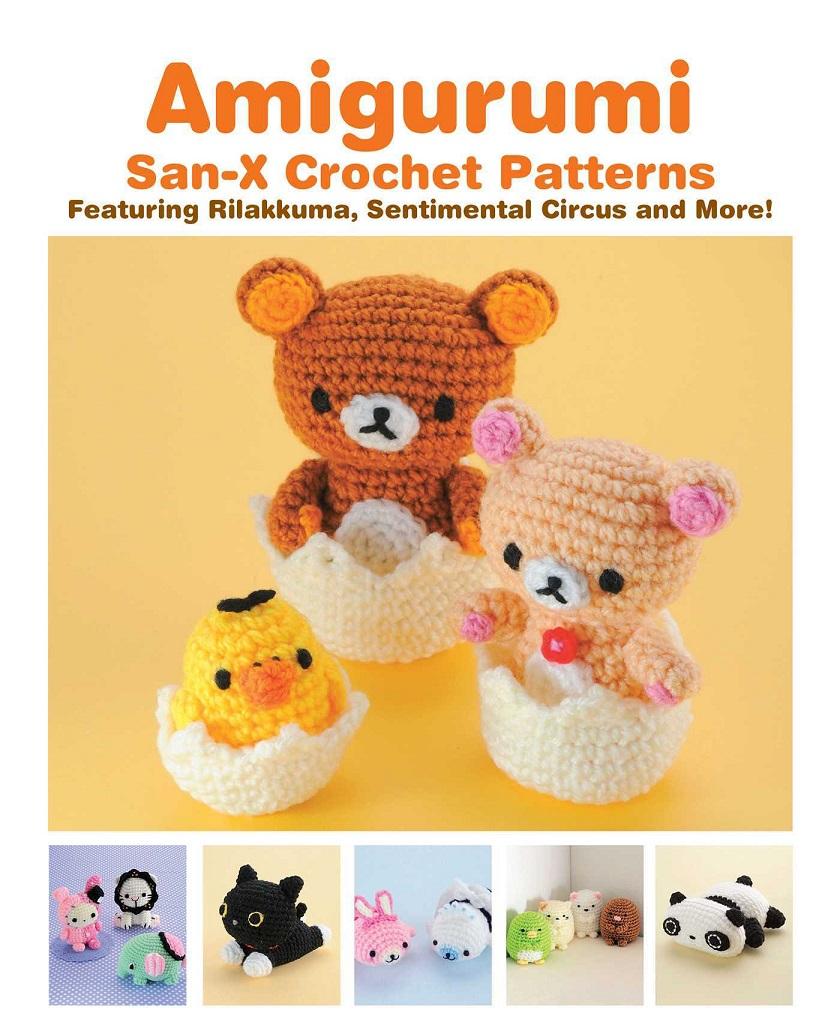 Amigurumi San-X Crochet Patterns 9781421598734