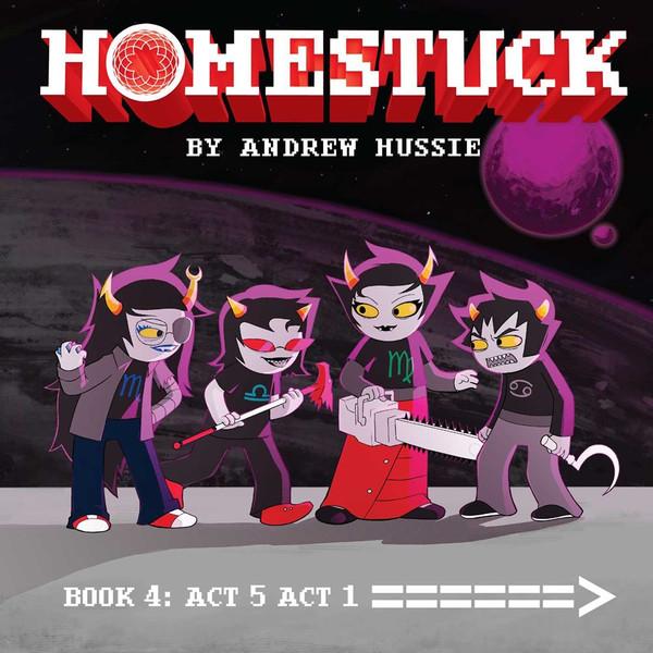 Homestuck Graphic Novel Volume 4 (Hardcover)