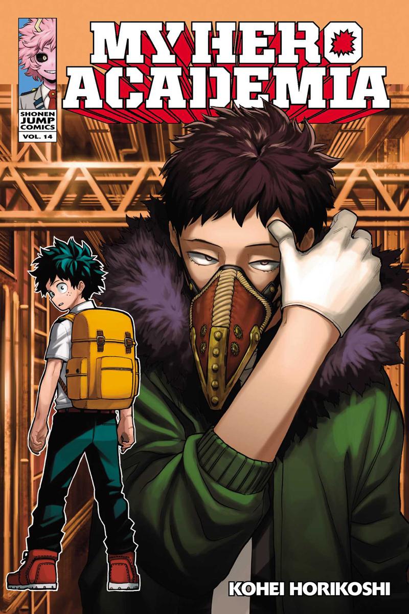 My Hero Academia Manga Volume 14