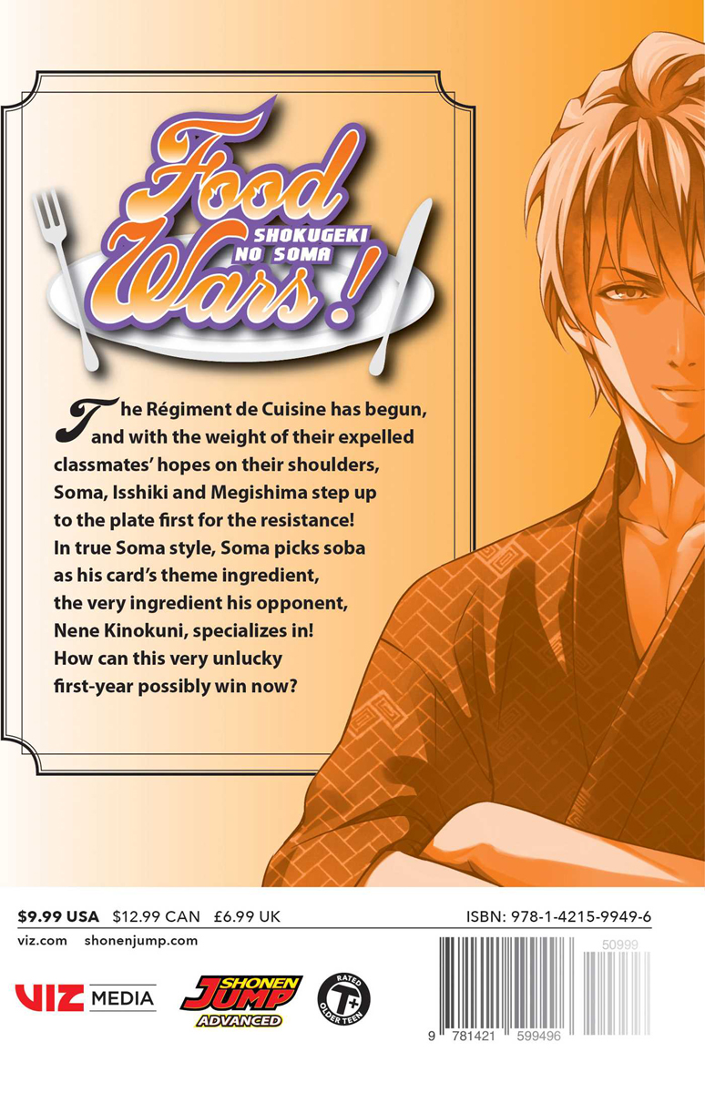 Food Wars! Manga Volume 25