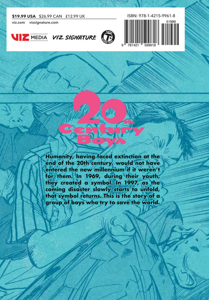20th Century Boys The Perfect Edition Manga Volume 1